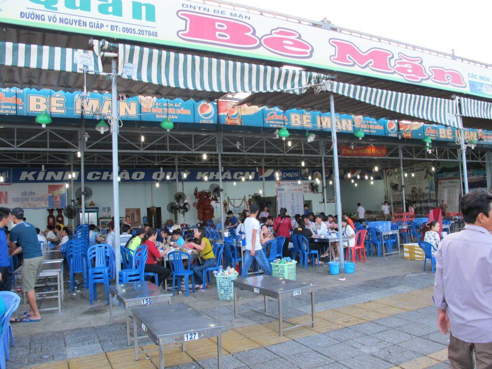 ダナンの海鮮レストラン