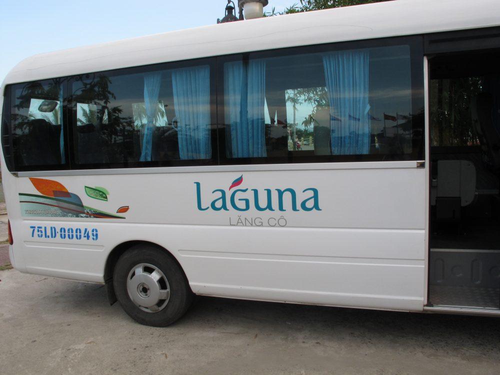 ランコーからホイアンまでバスで移動