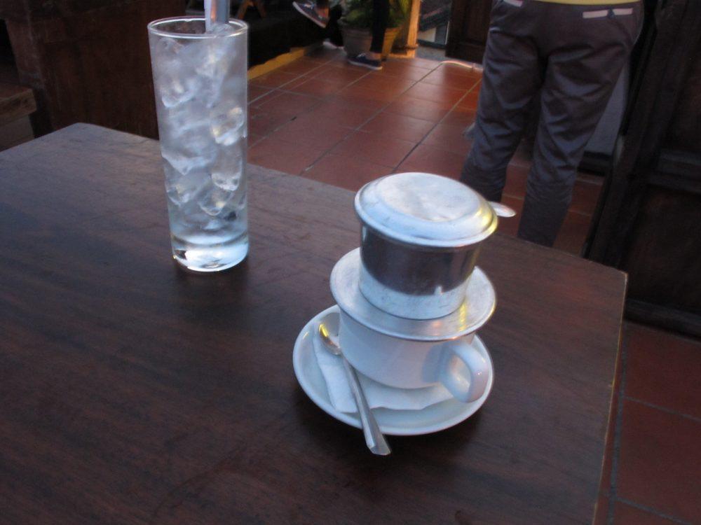 甘いベトナムコーヒー